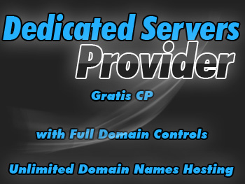 Half-priced dedicated hosting services